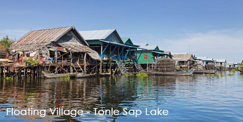 Floating Villages - Tonle Sap Lake