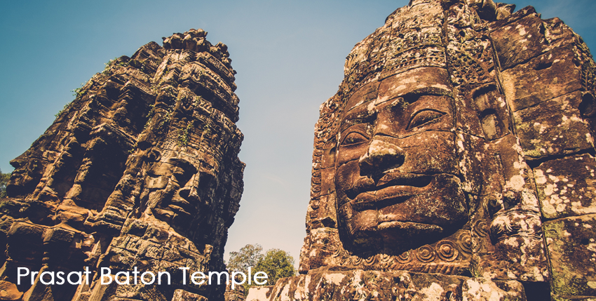 Prasat Baton Temple, Angkor, Siem Reap